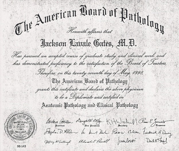 Medical Diagnostic Choices Mdc About Dr Gates