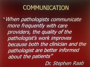Communication in Laboratory Medicine