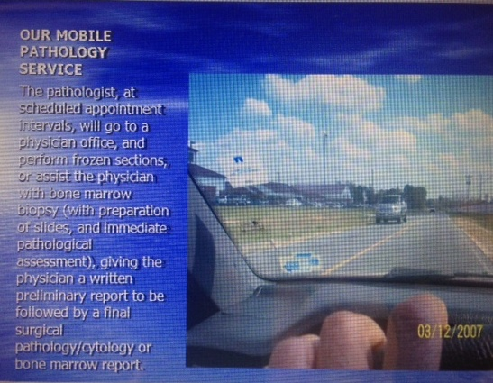 Mobile Diagnostic Test Point of Care Testing