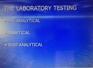 The Laboratory Testing Process